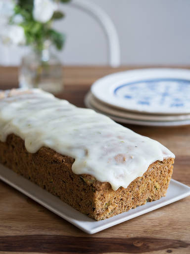 Zucchini-Limetten-Kuchen