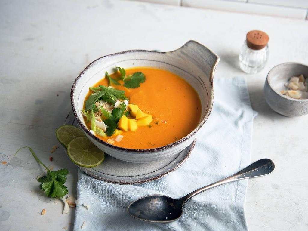 红薯橙子汤
