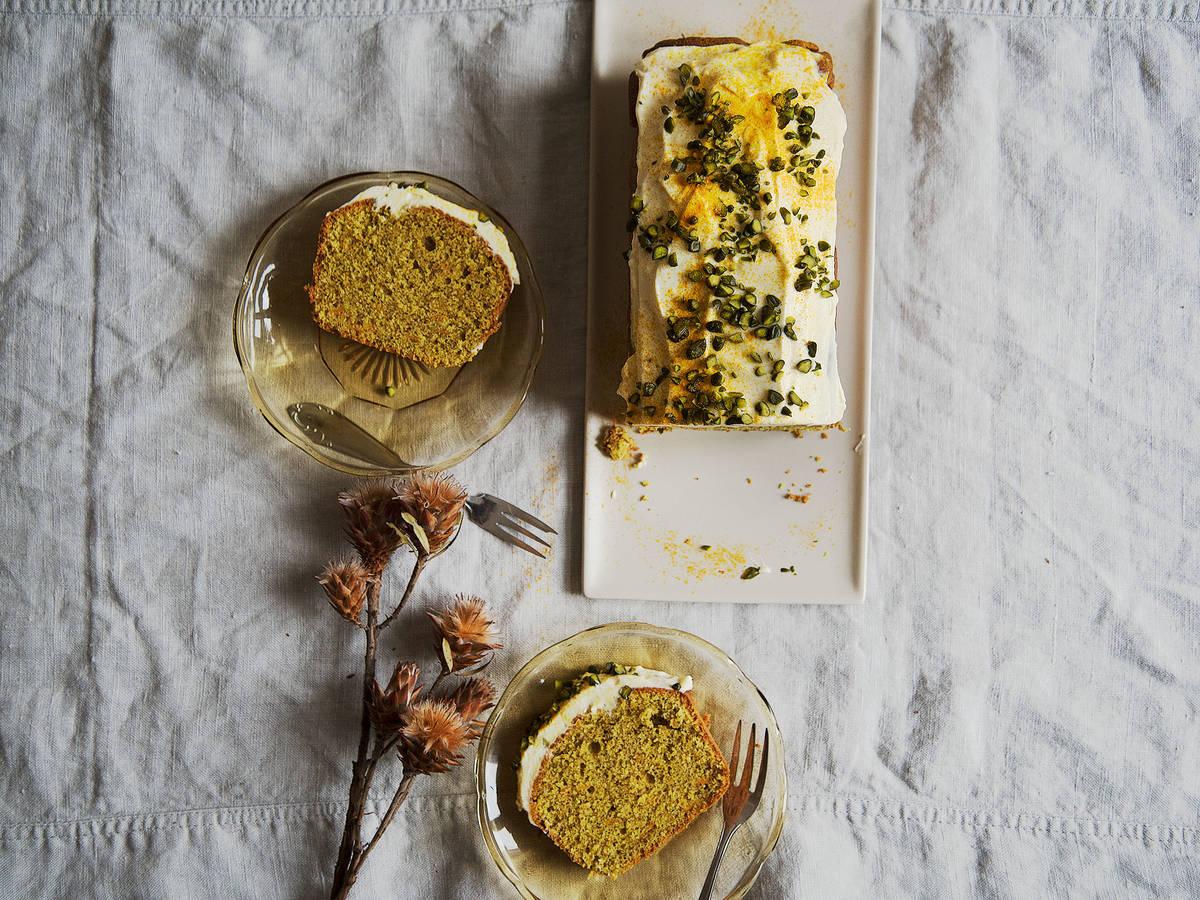 Frühstückskuchen mit Kurkuma