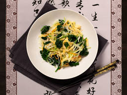 Bunter Chiffonade-Salat