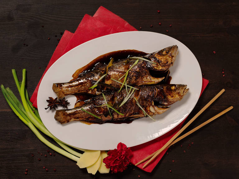 Whole braised fish