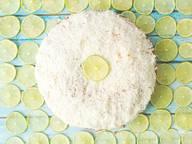 Limettenkuchen mit Kokos