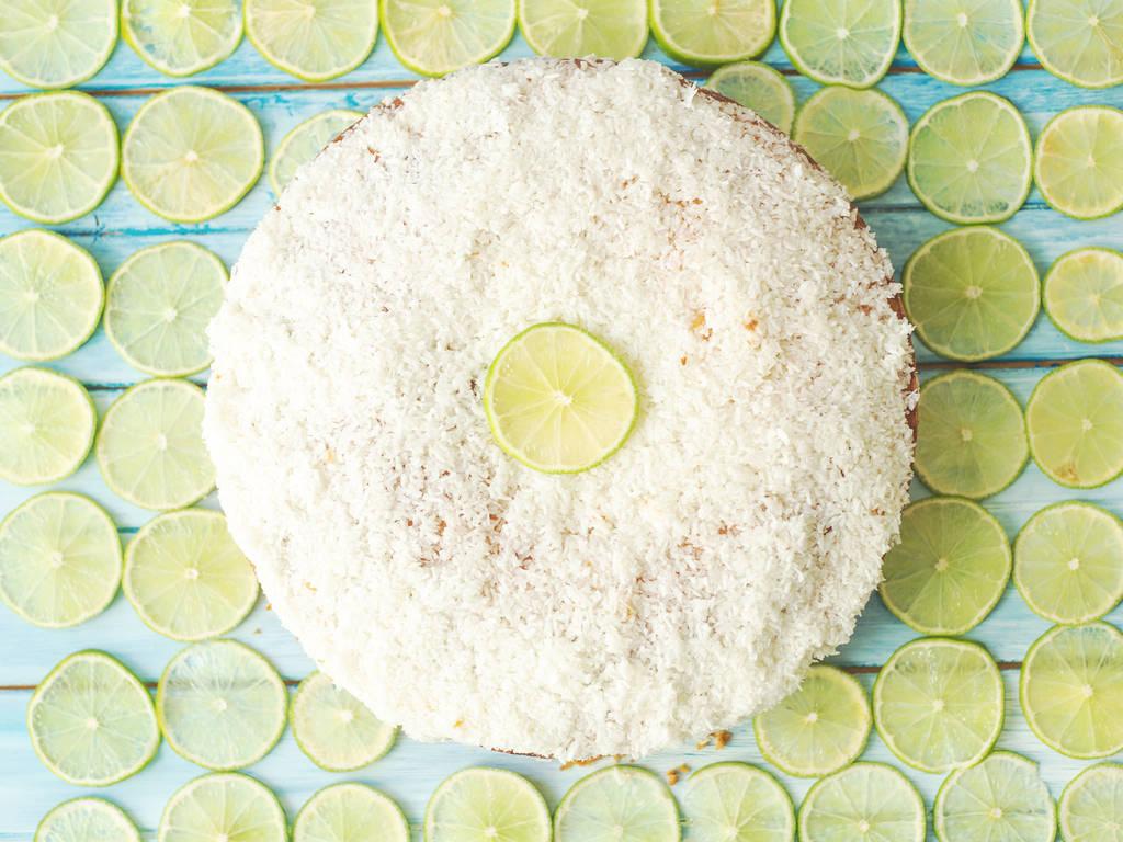 椰蓉酸橙蛋糕