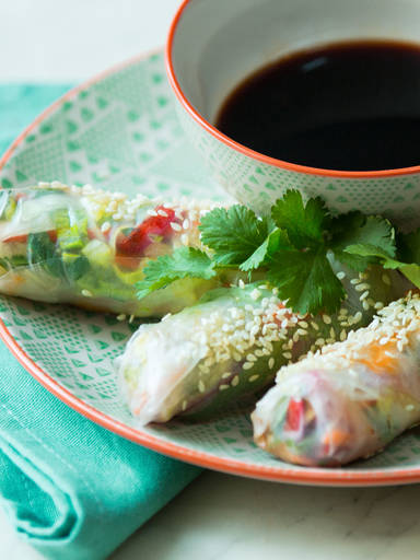 越南风味夏日蔬菜卷