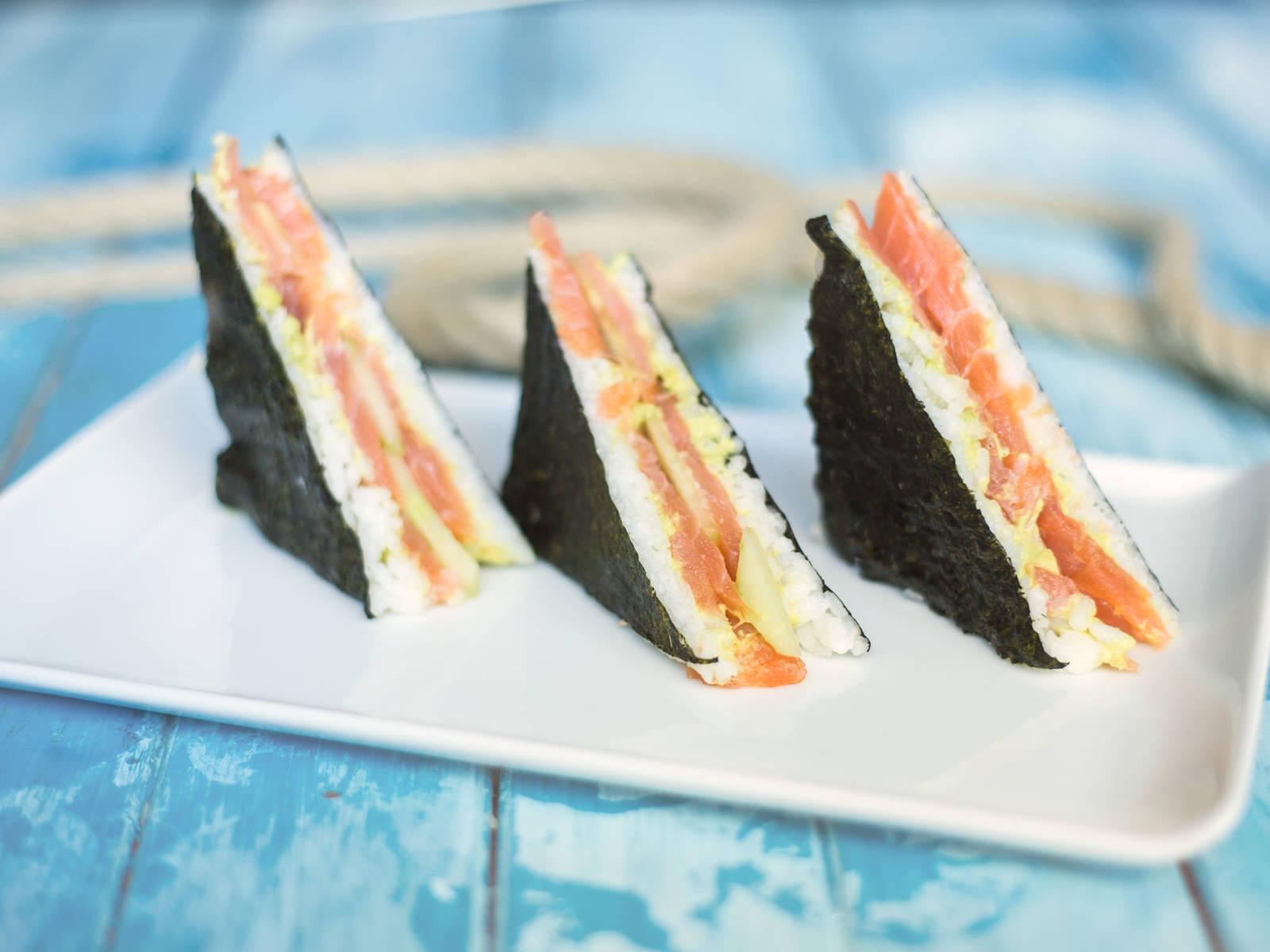 Easy nori sandwich