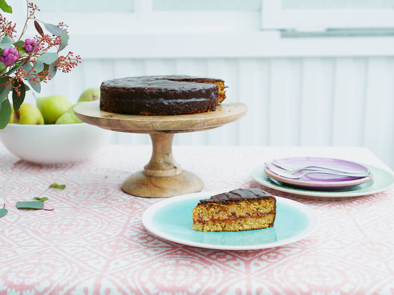 Carrot Cake Recipe With Apricot Jam