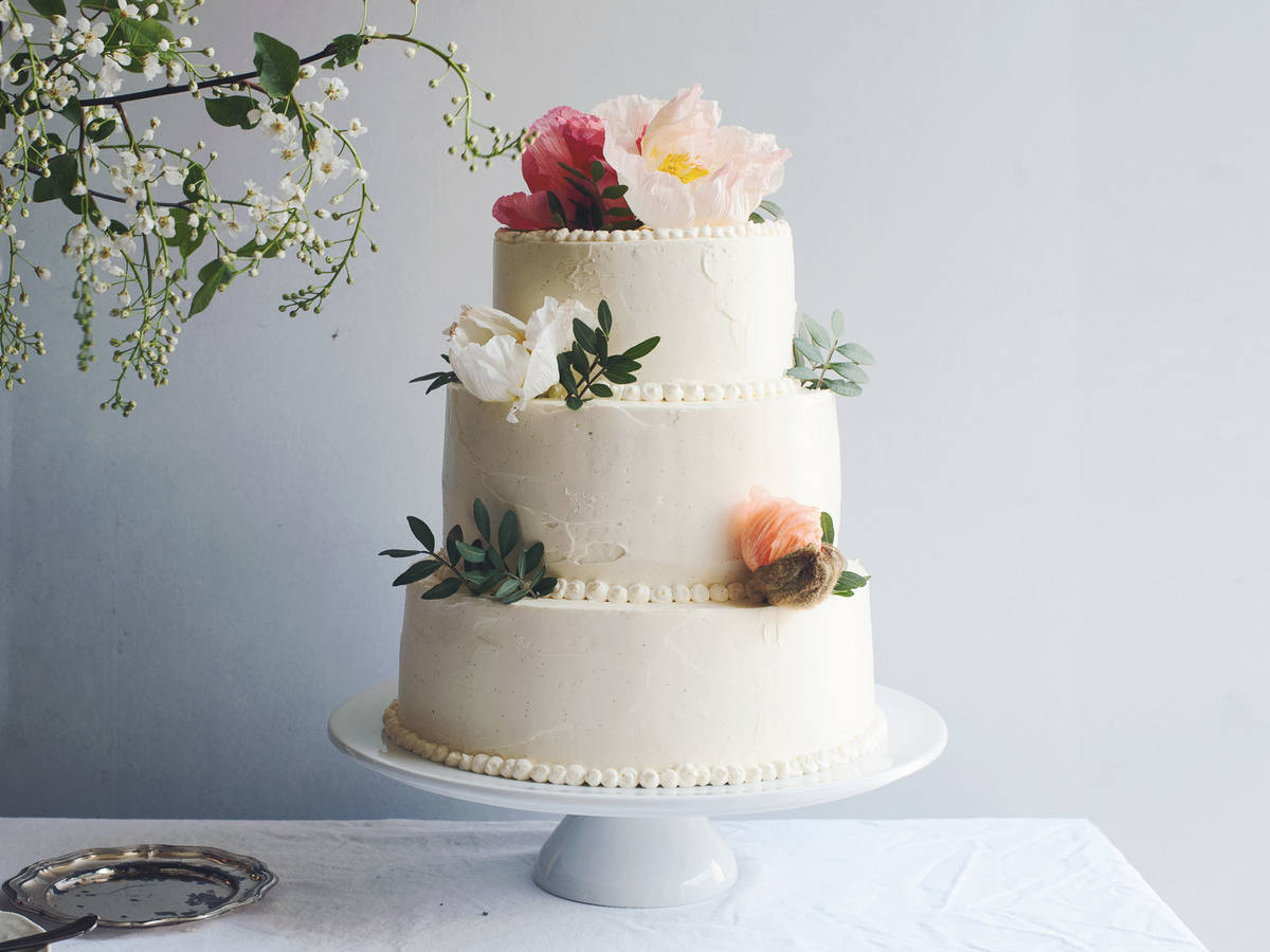 Wedding Cake Recipe.Wedding Cake