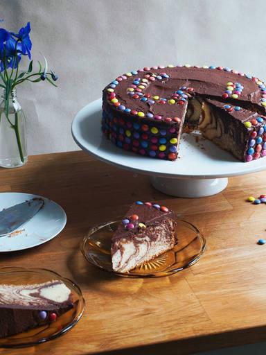 巧克力豆蛋糕