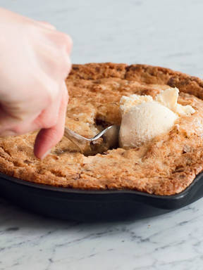 Pfannen-Cookie