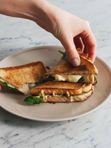 烤芝士三明治