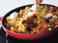 Spicy taco skillet