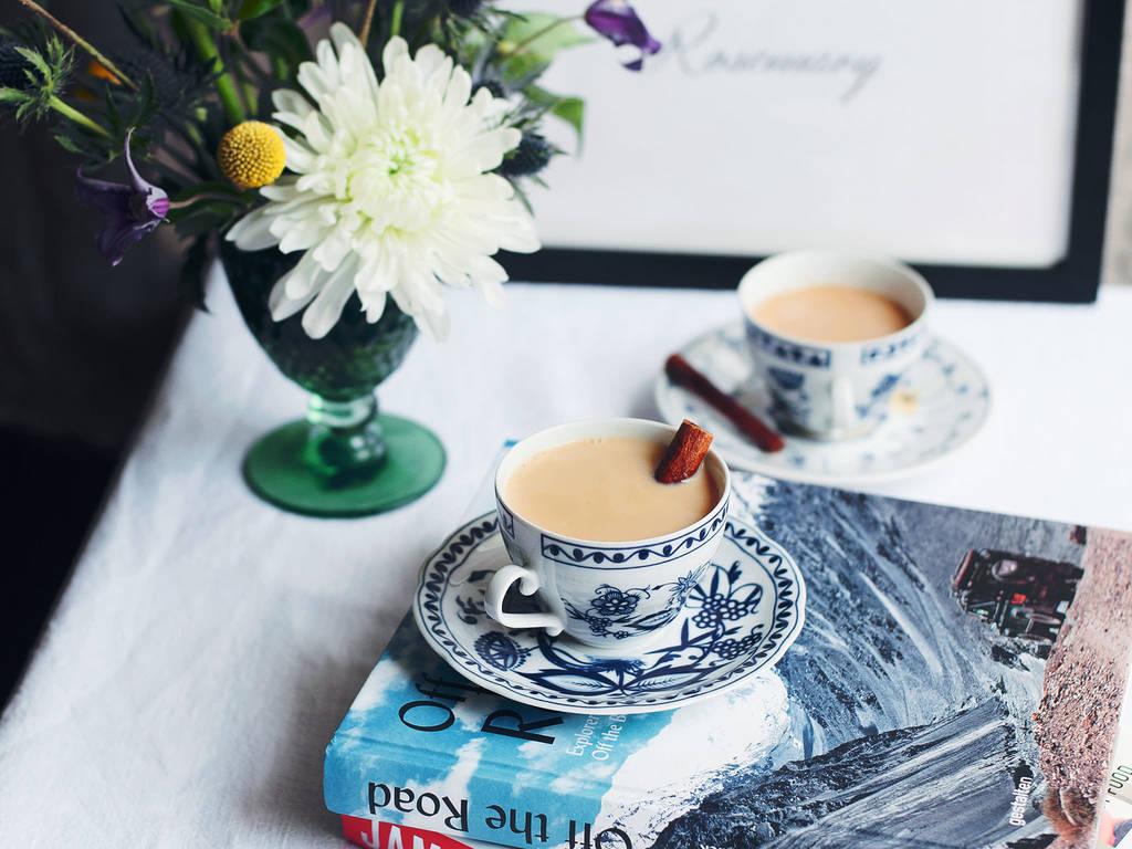 香草豆浆茶