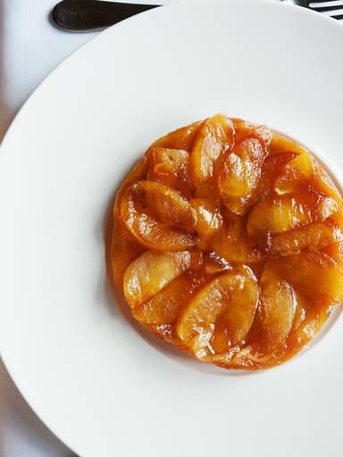 焦糖苹果派