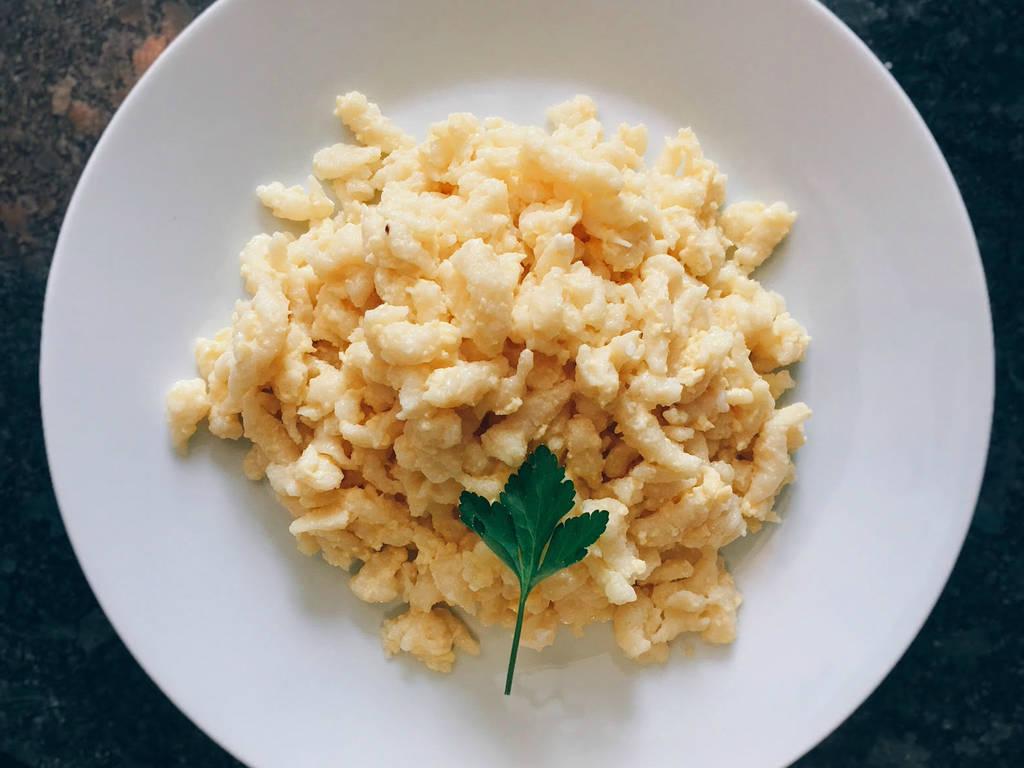 Austrian egg spätzle