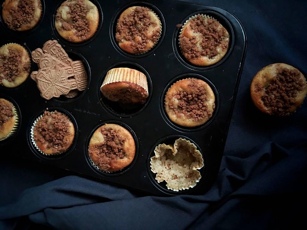 Bananen-Spekulatius-Muffins