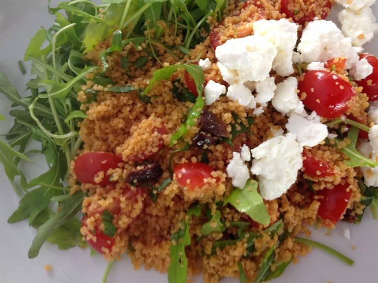 Couscous Sommersalat