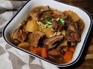 Galbi-Jjim (Korean braised short ribs)