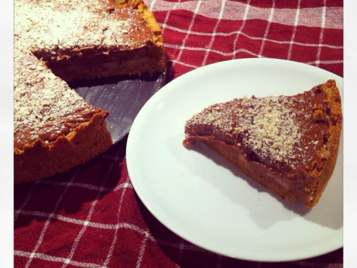 Birnen-Nougat-Kuchen