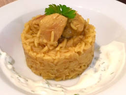 Orientalisches Reis-Curry