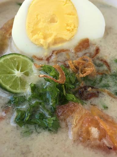 Soto betawi (Jakarta beef soup)