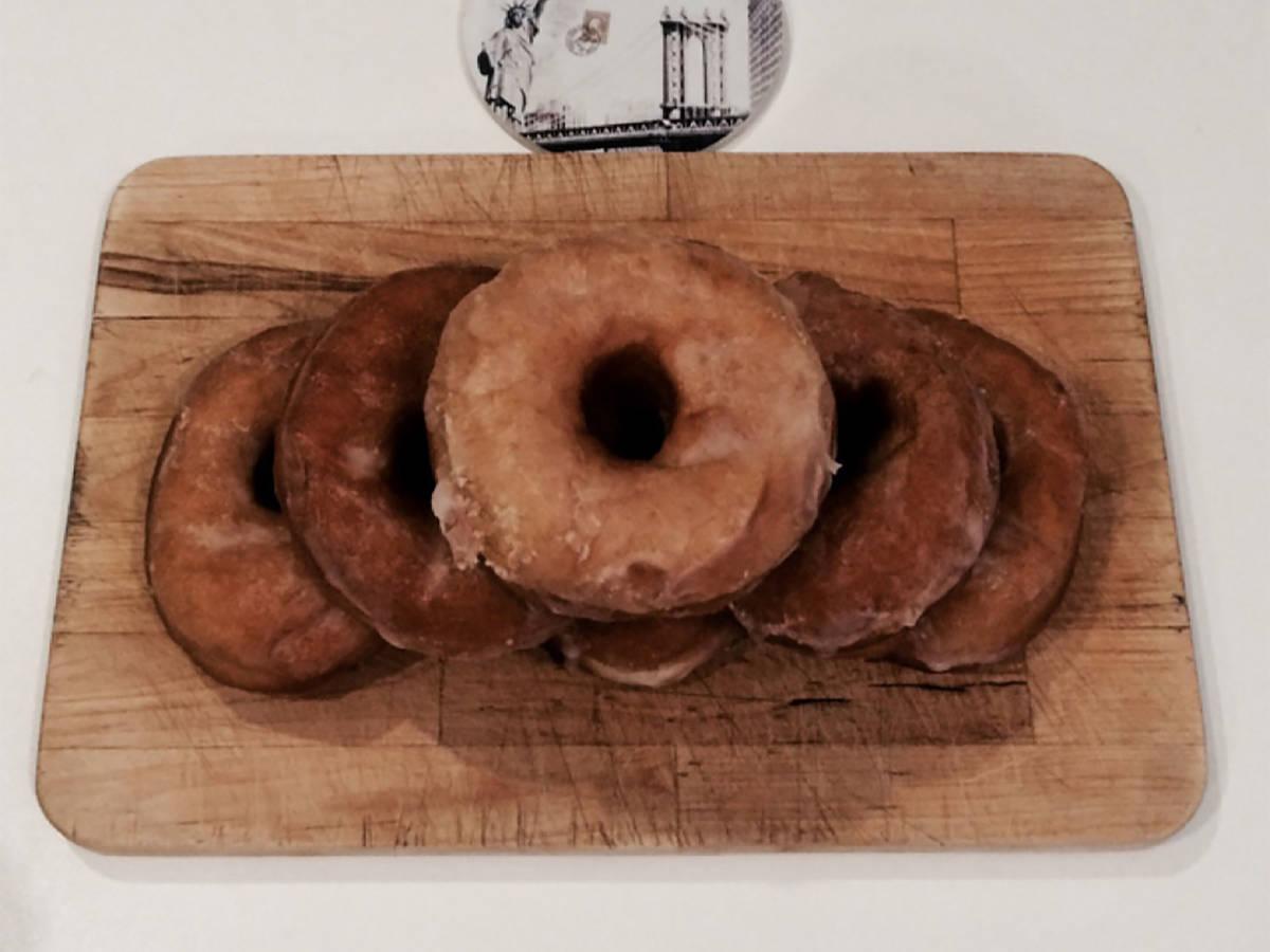 Amerikanische Donuts