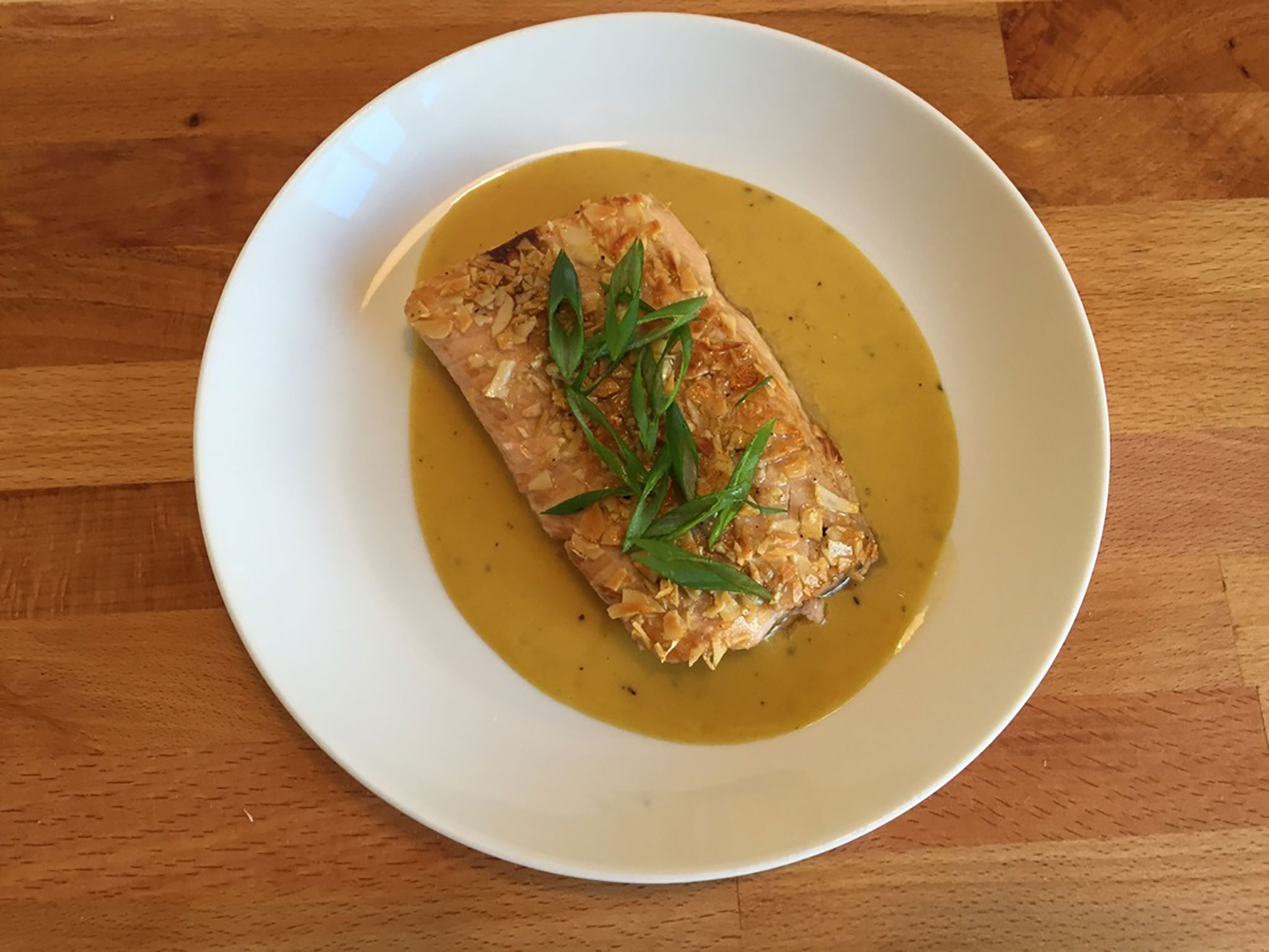 Almond Crusted Cod with Orange Sauce Recipe | How To Feed ...