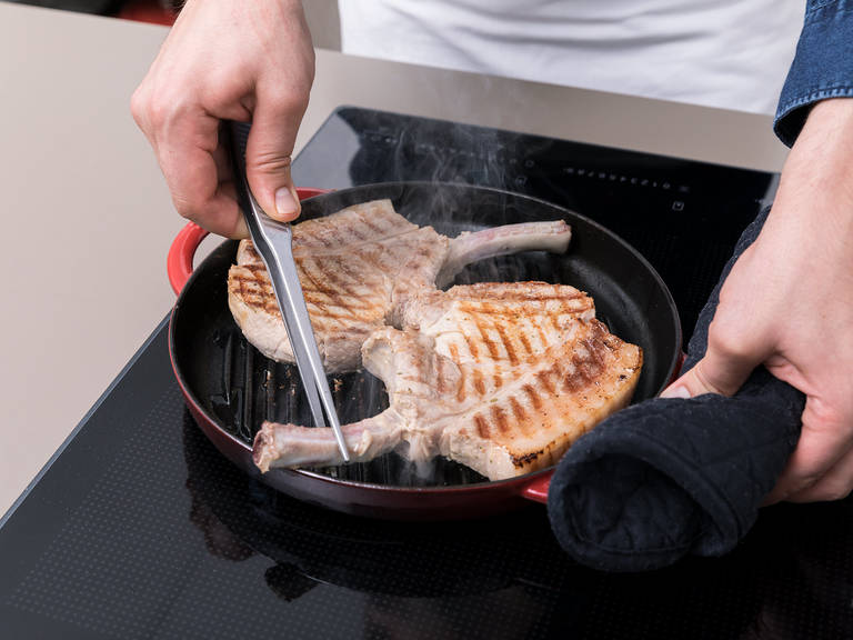 Cook meats to desired level of doneness using a grill, grill pan, or oven. Serve and enjoy!