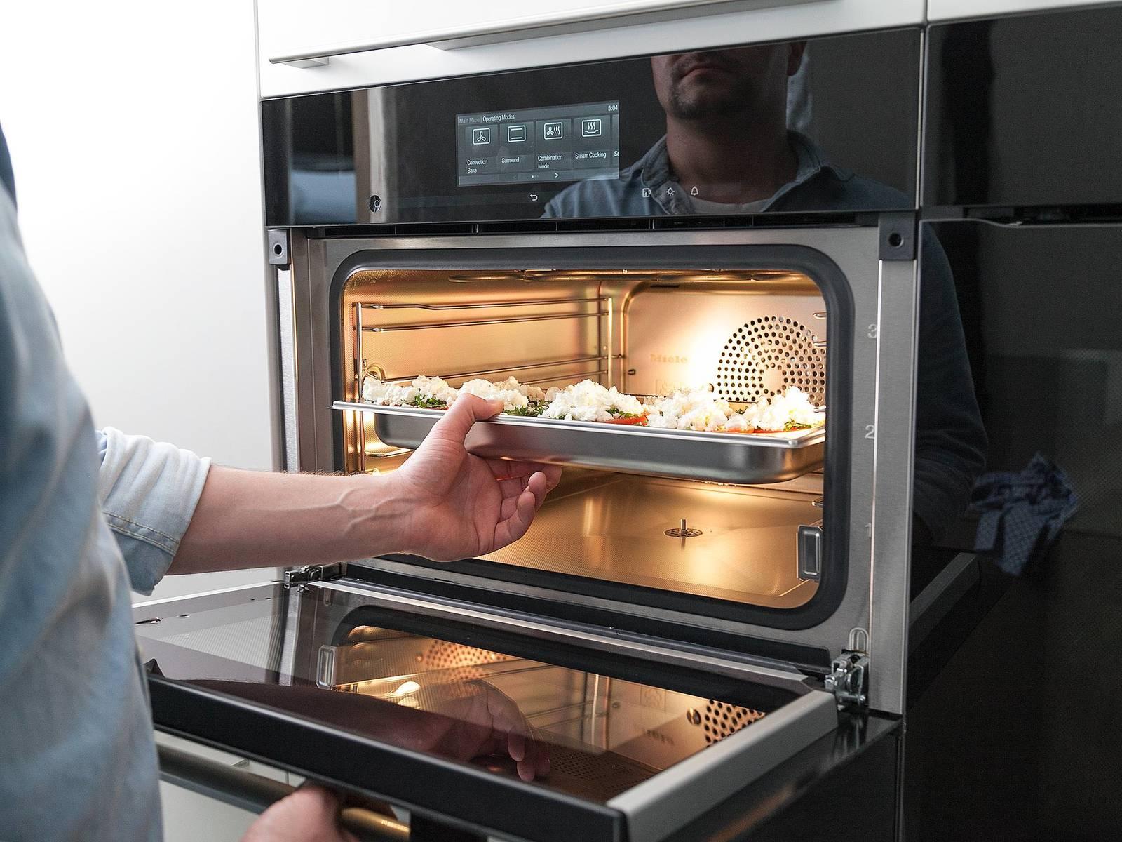 以100℃蒸5分钟。若喜欢,可以搭配烤过的土耳其扁面包。尽情享用吧!