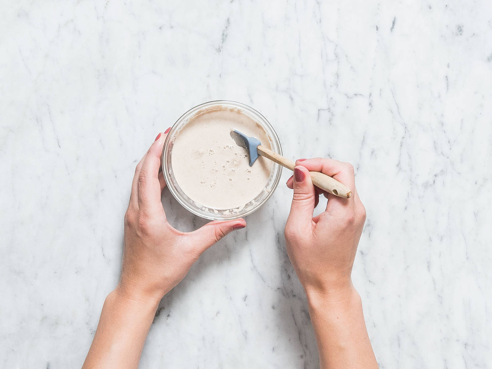 In a small mixing bowl, combine yeast, warm water, and some of the sugar and lightly stir. Let sit for approx. 5 min., until it becomes foamy on top. In another small mixing bowl, whisk together some of the eggs and oil.