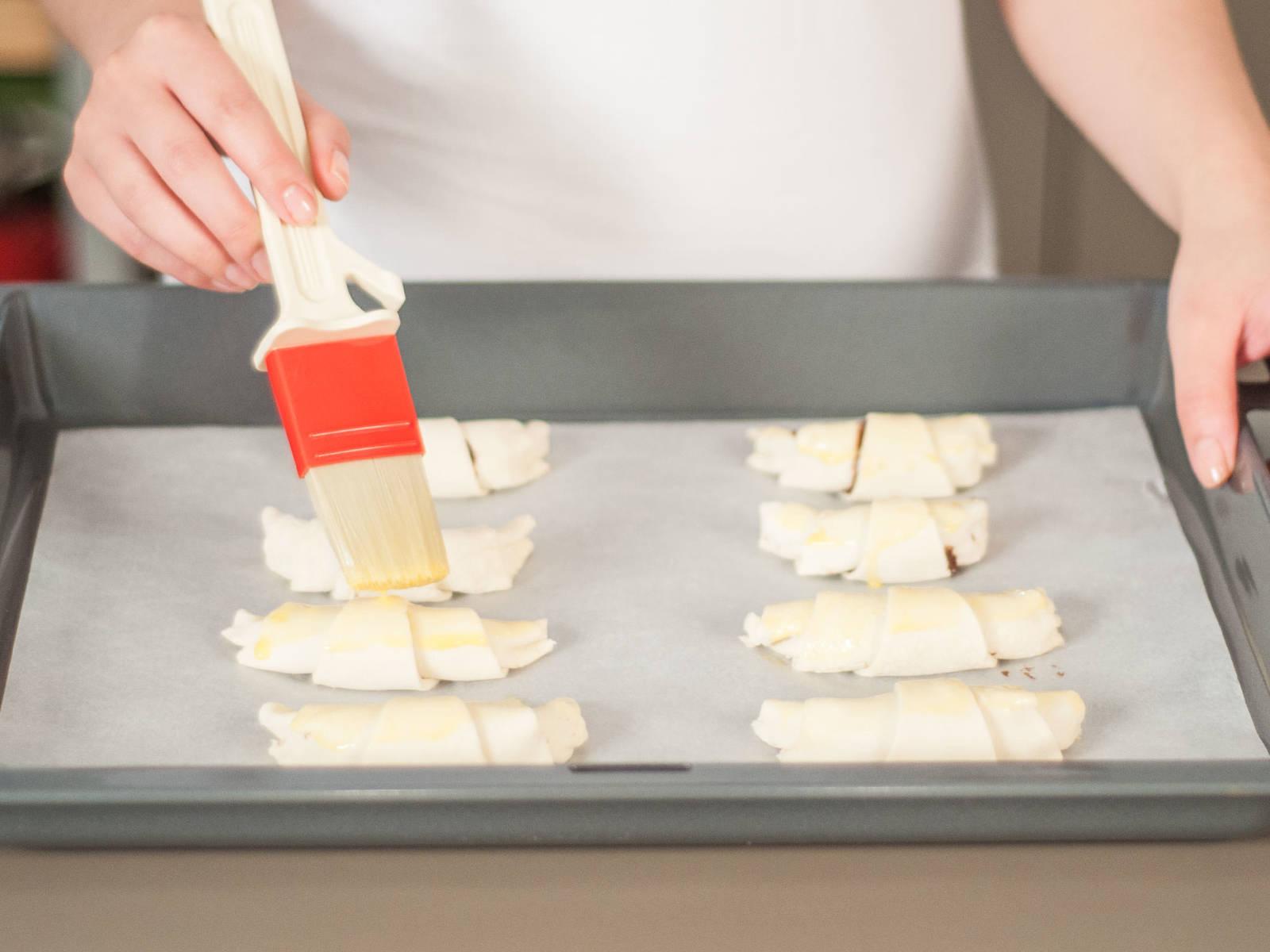 Quick chocolate croissant - Recipes - Kitchen Stories
