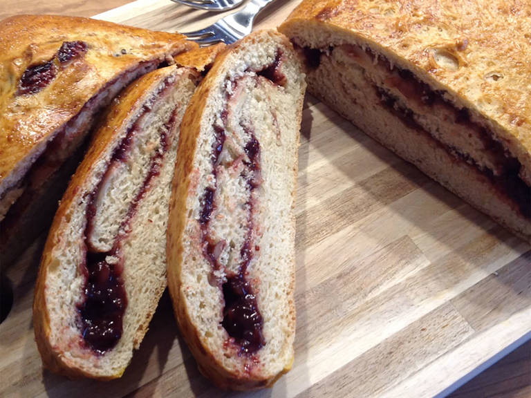 Set plum bread aside to cool, then serve.