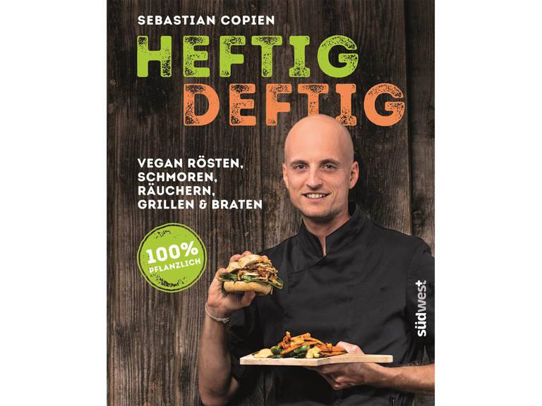 """You can find plenty more dishes in Sebastian's new cookbook """"HEFTIG DEFTIG"""" (SüdWest Verlag)!"""