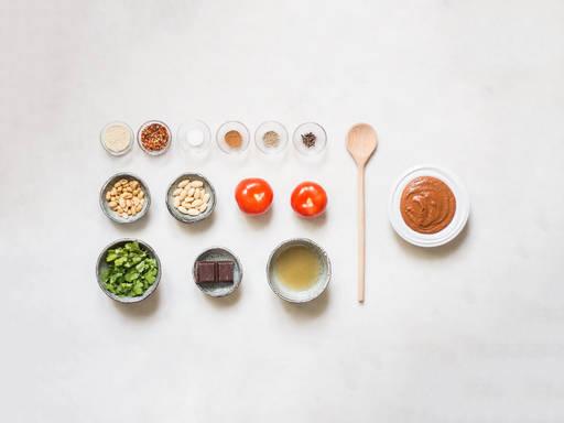 Homemade mole sauce