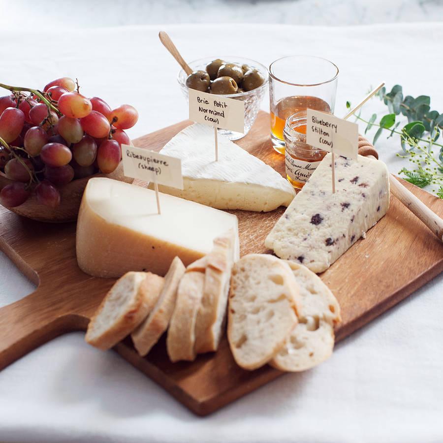 Die perfekte Käseplatte