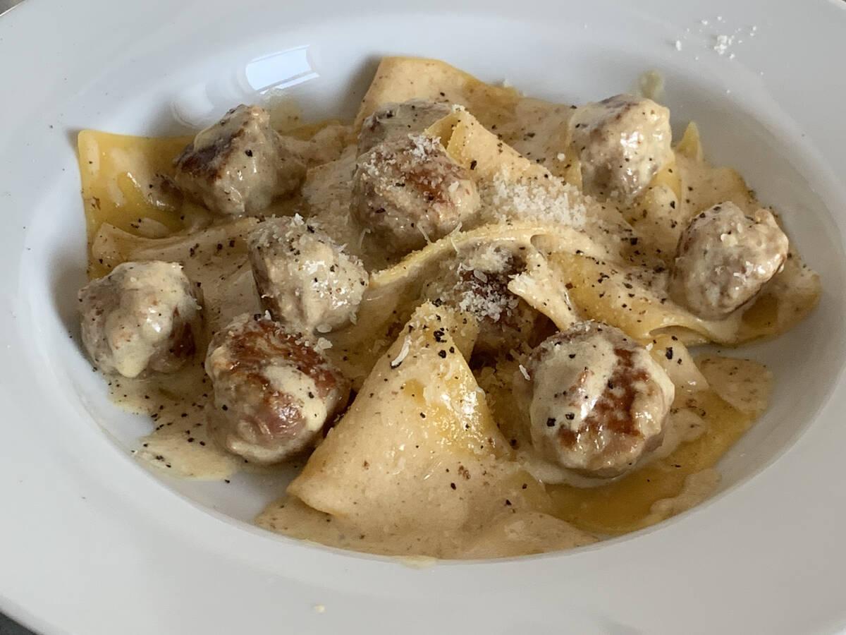 Deconstructed Tortellini alla panna