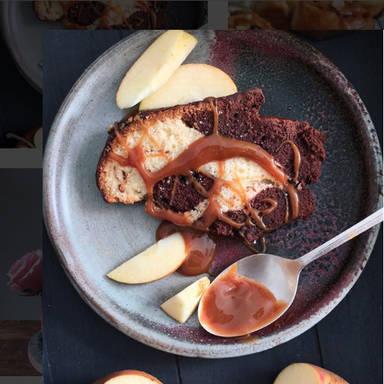 Gugelhupf mit Karamellsoße
