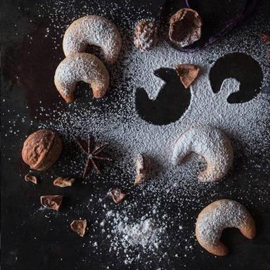 新月香草饼干