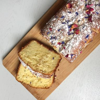 Lemon-lavender yogurt loaf