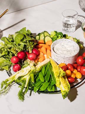 Crudités – Der Salat, bei dem du keine Gabel benötigst