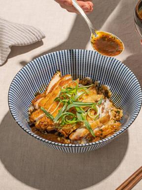 French Chicken Tarragon Gets a Japanese Twist