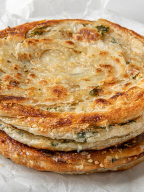 Nothing Says Spring is Here Like These Chinese Wild Garlic Pancakes