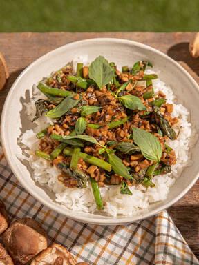 Pilze als Fleischersatz: Shiitake, Kräuterseitling, Portobello und Co.
