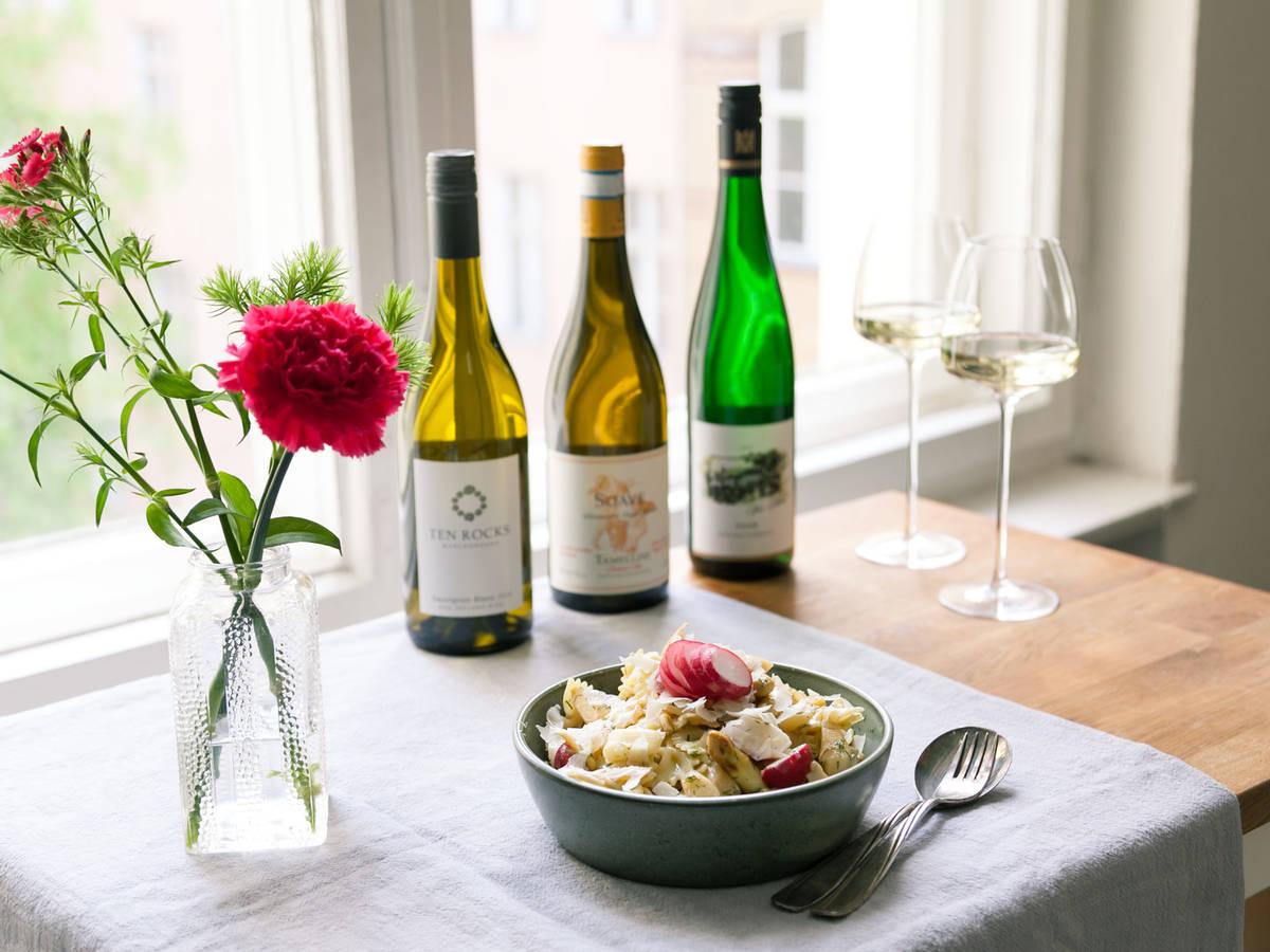 Welcher Wein passt zu deinem Spargelgericht?
