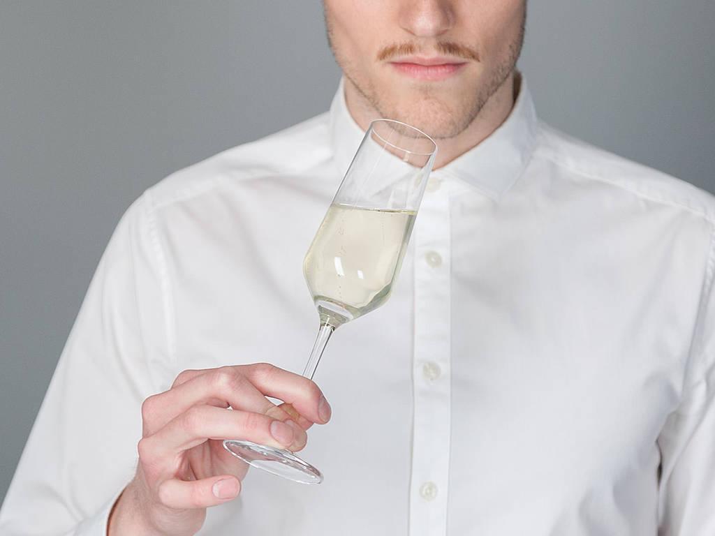 Sekt richtig trinken
