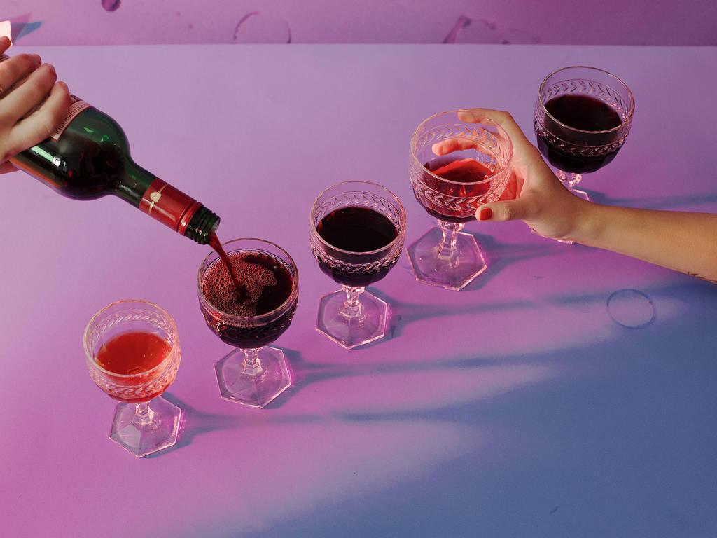 Sorgt schwerer Wein für einen schweren Kopf?