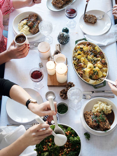 5 Recipes For a Vegetarian Christmas Menu