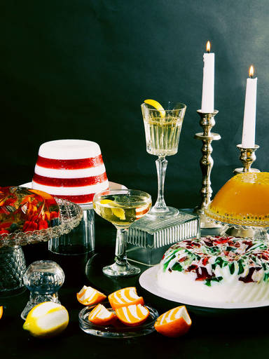 Go Retro This New Year's Eve with Jello Cocktails