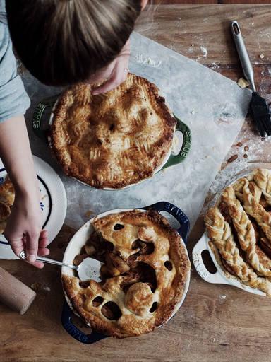Schluss mit langweiligen Teiggittern auf deinem Pie