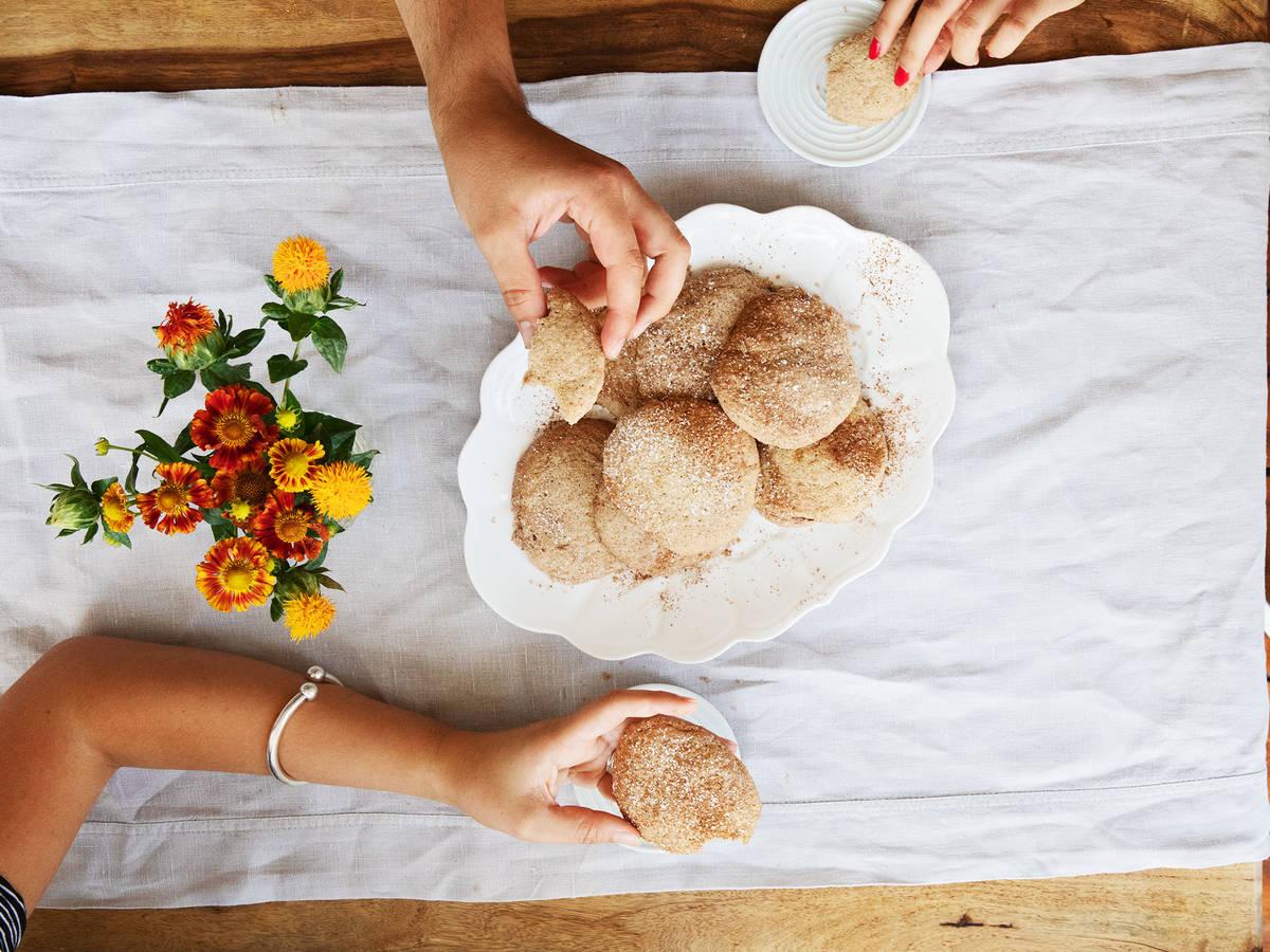 如何制作完美的肉桂软烤曲奇