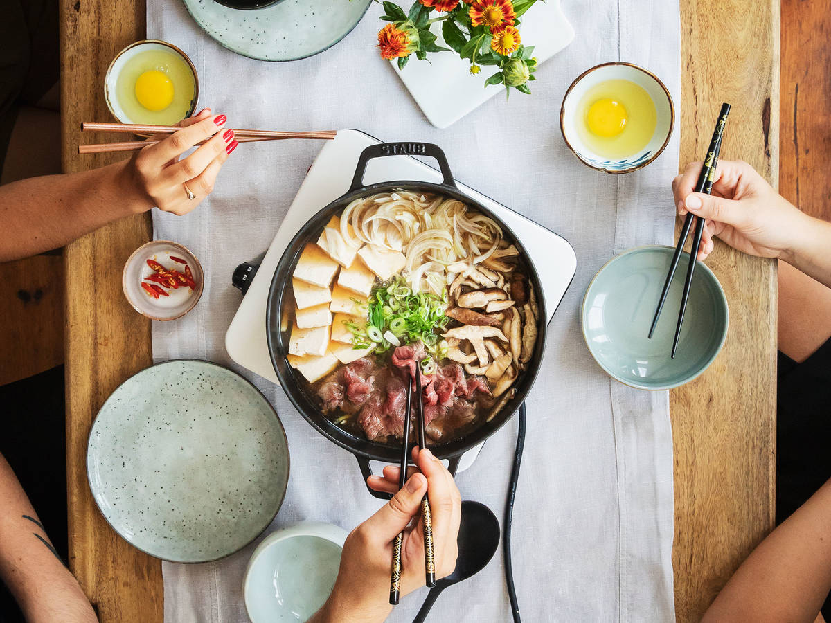 Hotpot in Hurry: Get to Know Sukiyaki